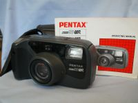 * CASED-NICE * Pentax Zoom 90WR Camera Cased + Inst £14.99